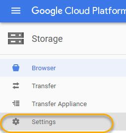 Google Cloud Storage with Windows NAS